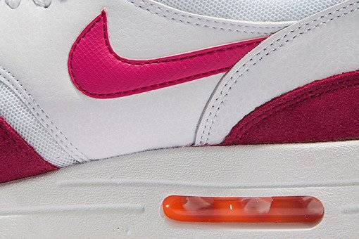 "Buty Nike Wmns  Air Max 1 Essential ""White/Fireberry"""