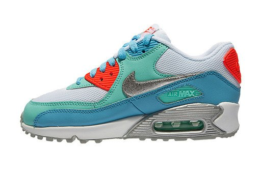 "Buty Nike Air Max 90 Mesh (GS) ""Lakeside"" 724855-100"