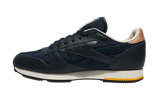 "Buty Reebok Cl Leather Casual ""Indigo"""