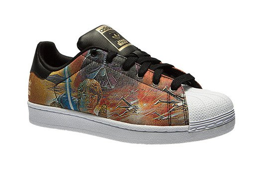 Buty adidas Superstar Star Wars Darth Vader vs Luke Skywaker B24726