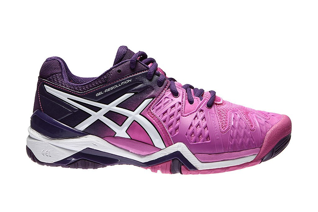 e8ed44f49 ... Asics Buty damskie do tenisa Gel Resolution 6 E550J-3537 ...