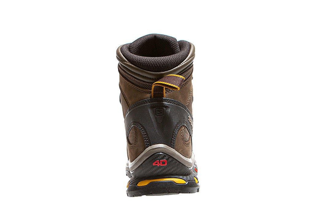 Buty trekkingowe męskie Salomon Quest 4D 3 Gore Tex 401518 brązowe