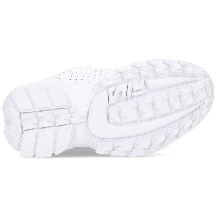 Fila buty dziecięce Disruptor 1010567.1FG białe