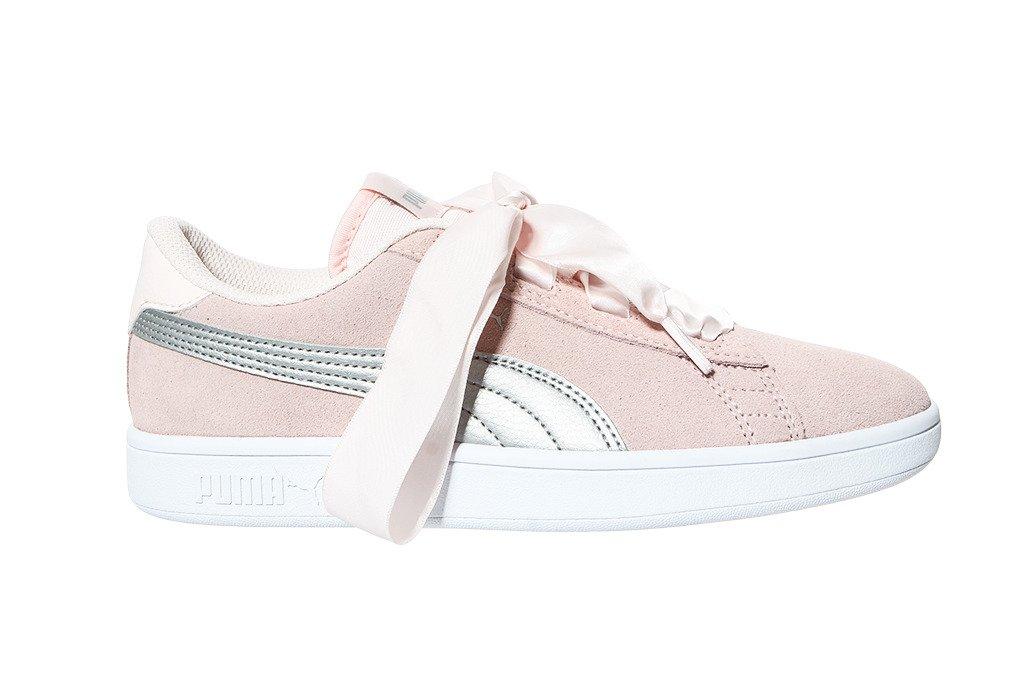 Puma buty młodzieżowe Smash V2 Ribbon Jr 366003 02