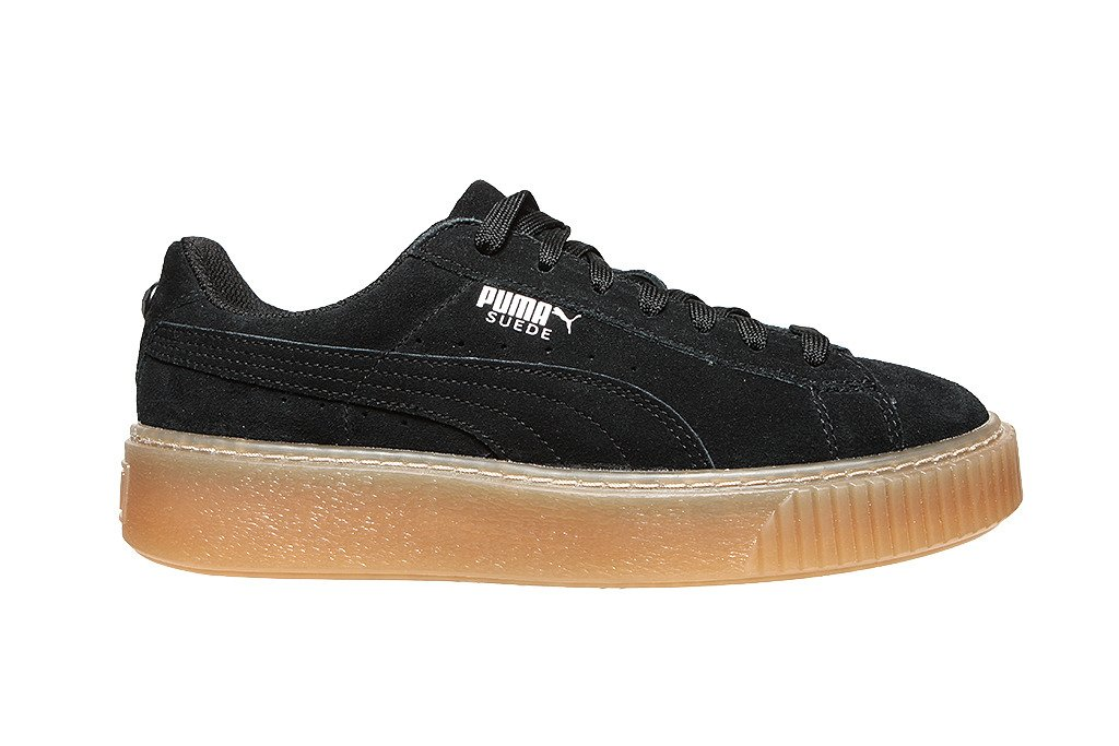 M?odzie?owe buty Puma Suede Platform Jewel Jr SNK 365131 01