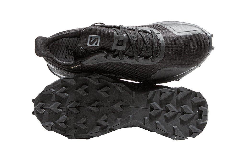 Salomon buty trekkingowe męskie Alphacross GoreTex 408051 czarne