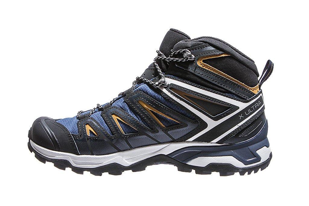 Salomon buty trekkingowe męskie X Ultra 3 Mid Gore Tex 408141 niebieskie