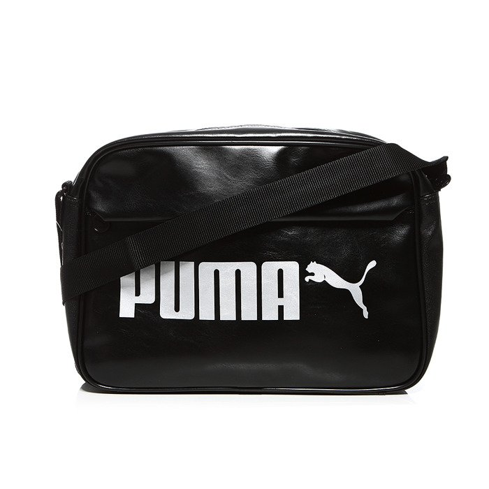 2a5a9fef Puma torba Campus Reporter Bag 073843-01 - czarna | e-megasport.com