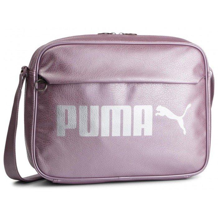 e247fe42 Puma torba Campus Reporter Bag 075005-07 - fioletowa | e-megasport.com