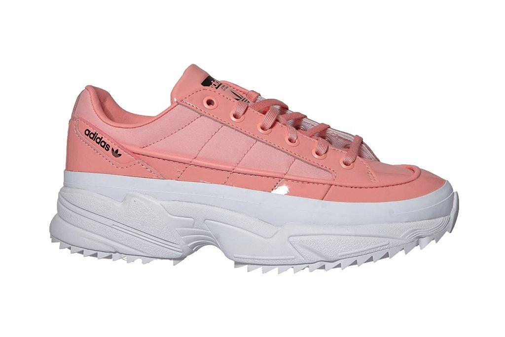 adidas buty różowo szare wysoka podeszwa