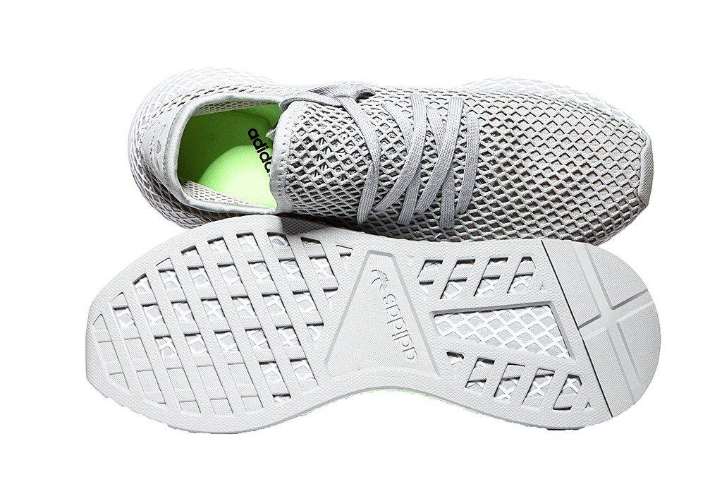 adidas buty męskie Deerupt Runner BD7894 Grey Two Ftwr White Hi Res Yellow