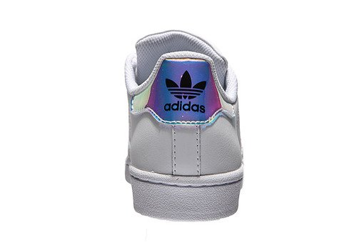 adidas buty mlodziezowe Superstar J AQ6278 hologram | e