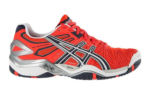 Buty damskie Asics Gel Resolution 5 E350Y-2157 Clay